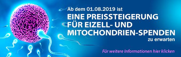Eizell- und Mitochondrien-Spende
