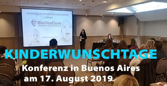 BioTexCom-Konferenz in Buenos Aires am 17. August 2019