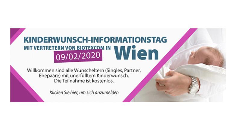 Kinderwunschtage in Wien mit BioTexCom