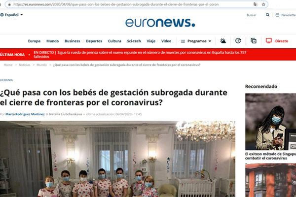 Was geschieht mit Kindern, die durch Leihmütter zur Welt kommen, während Grenzenschließung in Coronazeiten?