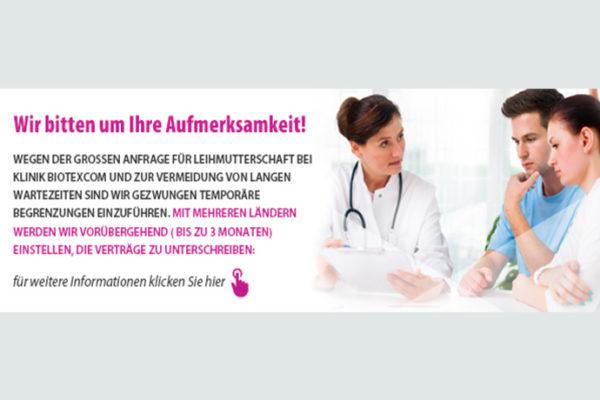 BioTexCom – Kampf gegen lange Wartelisten für Leihmutterschaften